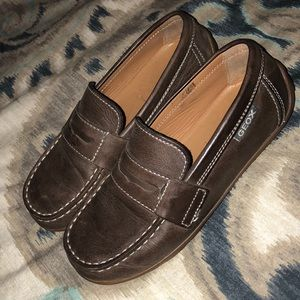 GEOX - Leather - Boys Dress Loafer - Size 31
